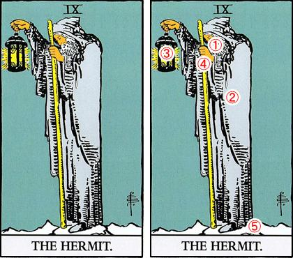 9.THE HERMIT/隠者