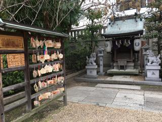 難波神社の金刀比羅神社