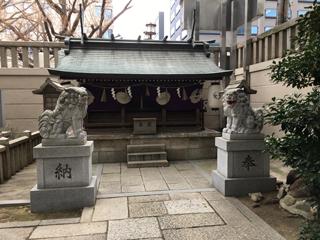 難波神社の十四柱相殿神社