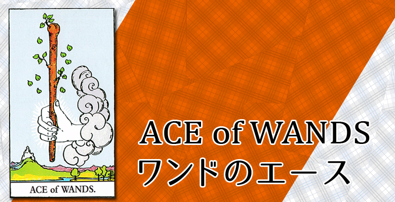 ACE of WANDS/ワンドのエースの解説
