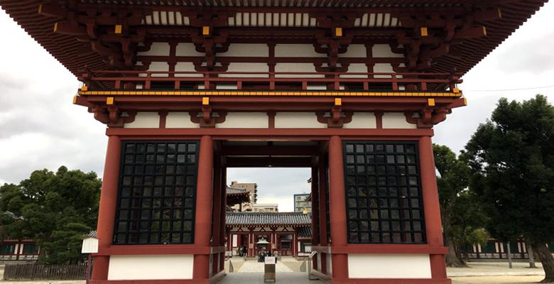 大阪七福神、四天王寺の布袋尊
