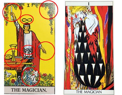 魔術師のカード
